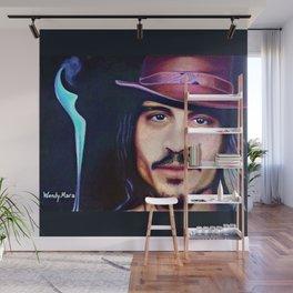 Johnny Depp Wall Mural