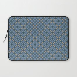 aqua peach french floor Laptop Sleeve