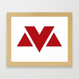 MV Logo Framed Art Print