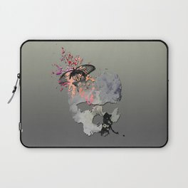 Butterflies in my Skull Laptop Sleeve