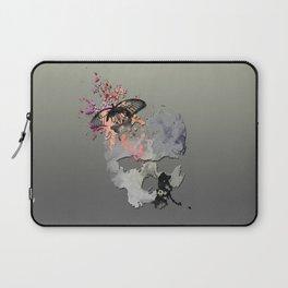 Butterflies in my Skull Laptop Sleeve
