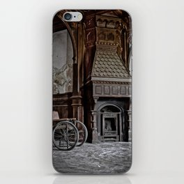 lost fireplace iPhone Skin