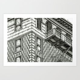 Los Angeles Architecture Art Print