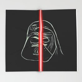 Destiny of the Force Throw Blanket