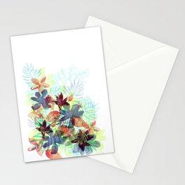 Acqua Floral Stationery Cards