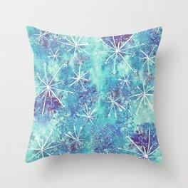 Starry Garden Throw Pillow