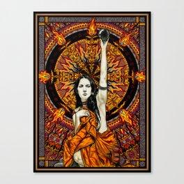 BlackSun Canvas Print