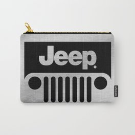 Jeep Steel Chrome Carry-All Pouch
