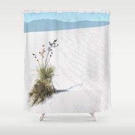 White Sands Shower Curtain