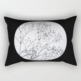 Silver Kiss I  Rectangular Pillow