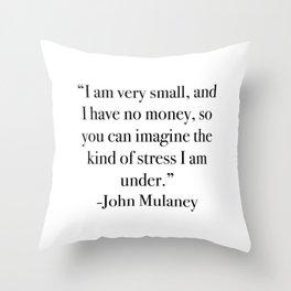 John Mulaney Throw Pillow