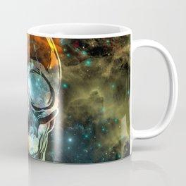 Galaxy Skull Coffee Mug
