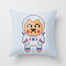 8Bit Astrobear Throw Pillow