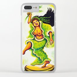 Uzume Goddess of Laughter & Mirth Clear iPhone Case