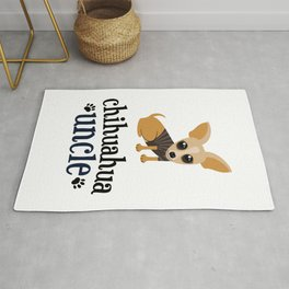 Chihuahua Uncle Pet Owner Dog Lover Rug