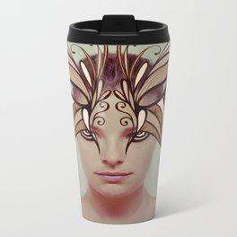 Mask Metal Travel Mug