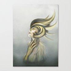 The Mandarin Ducks: Silence Canvas Print