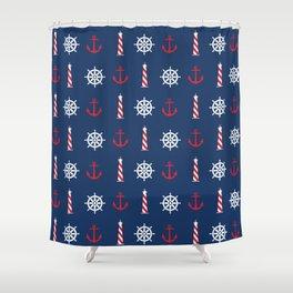 Ahoy! Shower Curtain