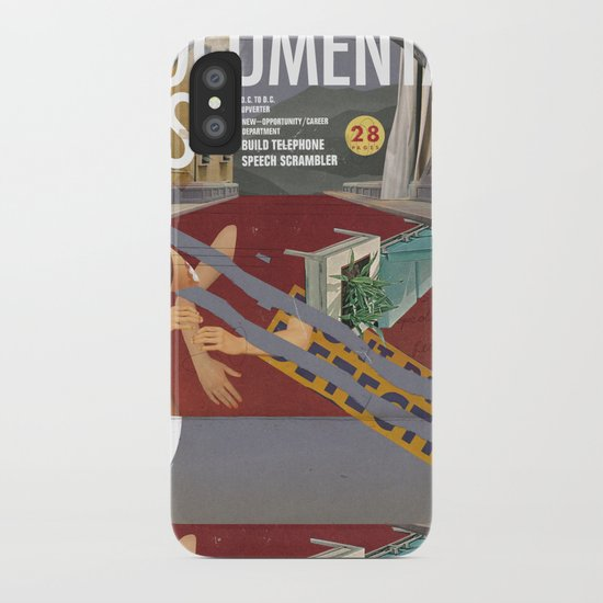 Vans and Color Magazine Customs iPhone Case