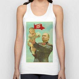 Trump Putin Unisex Tank Top