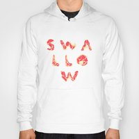 swallow Hoodies featuring SWALLOW by mcmadmissile