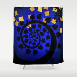 Bodhi Tree0603 Shower Curtain