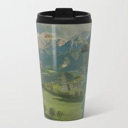 world feature collage  Travel Mug