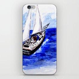 Sailing Away iPhone Skin