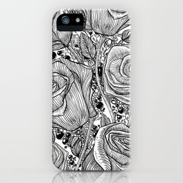 Floraldesign #004 iPhone Case