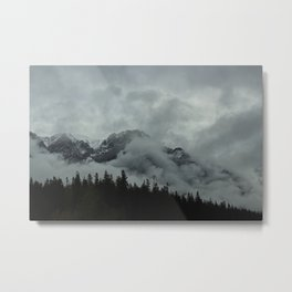 A Mountain, Three Times (2) Metal Print