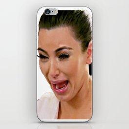 Kim K Crying iPhone Skin
