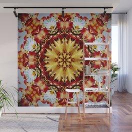 Bejewelled Chrysanthemum Wall Mural