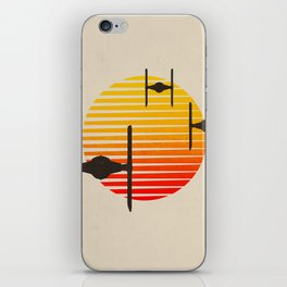 design tie fighters iPhone Skin