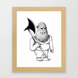 Executive Executioner Framed Art Print