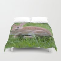 bunny Duvet Covers featuring Bunny by davehare