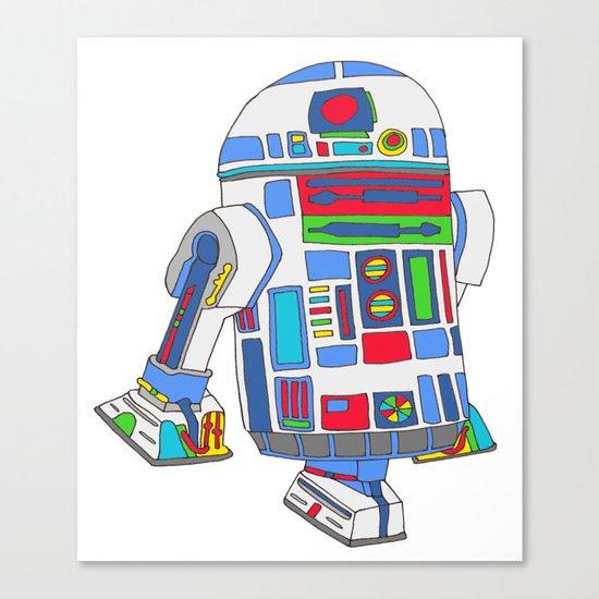 cool boys like epic droids Canvas Print