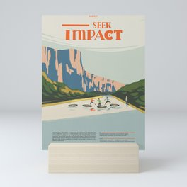 Seek Impact Mini Art Print