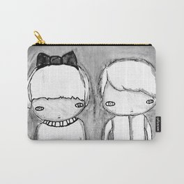 Indigo Twins Carry-All Pouch