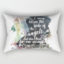 Sherlock Side of the Angels Rectangular Pillow