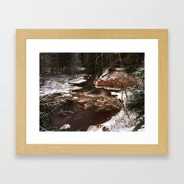 Chocolate River Framed Art Print