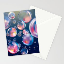 Bubbles Infinitum Stationery Cards