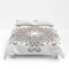 Mandala Bohemian Embellishments Medallion Comforters