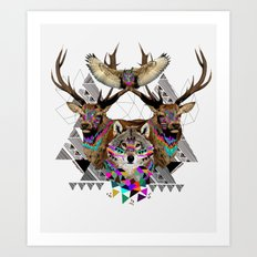 ▲FOREST FRIENDS▲ Art Print