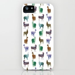 Lhamas iPhone Case
