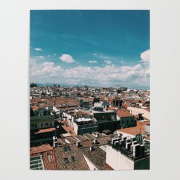 Madrid Rooftops Poster