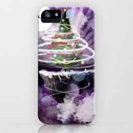 Christmas in the Sky iPhone Case
