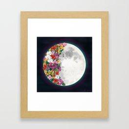 Flower Moon Framed Art Print