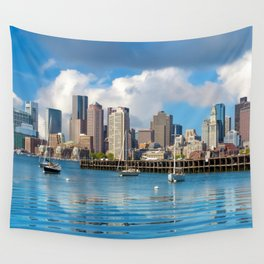 Boston 02 - USA Wall Tapestry