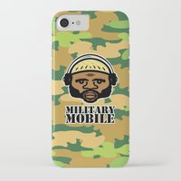 military iPhone & iPod Cases featuring Military Mobile by DUBLIC