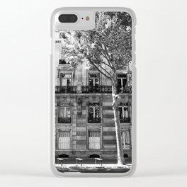 Paris Being Classy Clear iPhone Case
